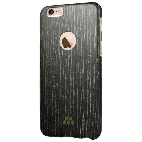Étui rigide ajusté Wood S d'Evutec pour iPhone 6 Plus/6s Plus - Abricot noir
