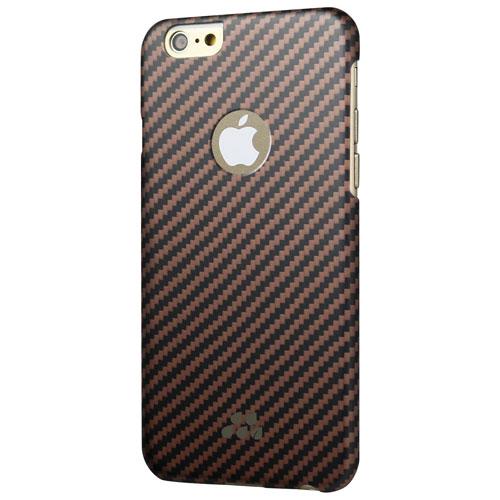 Étui rigide ajusté Karbon S d'Evutec pour iPhone 6 Plus/6s Plus - Rose doré
