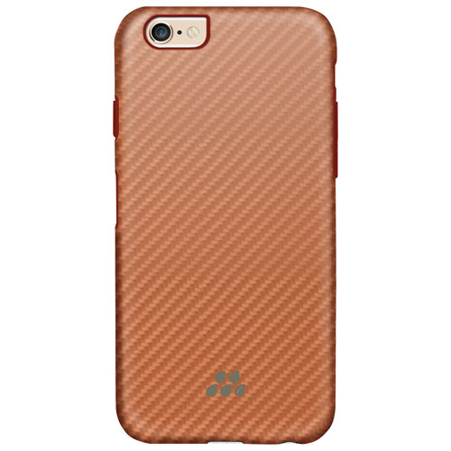 Étui rigide ajusté Karbon SI d'Evutec pour iPhone 6 Plus/6s Plus - Rose doré