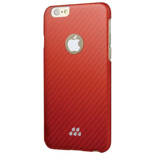 Étui rigide ajusté Karbon S d'Evutec pour iPhone 6/6s - Orange