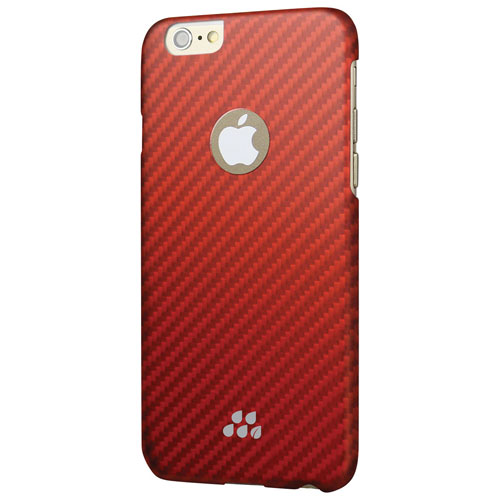 Evutec Karbon S iPhone 6/6s Fitted Hard Shell Case - Red Orange