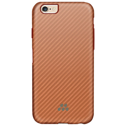 Evutec Karbon SI iPhone 6/6s Fitted Hard Shell Case - Rose Gold
