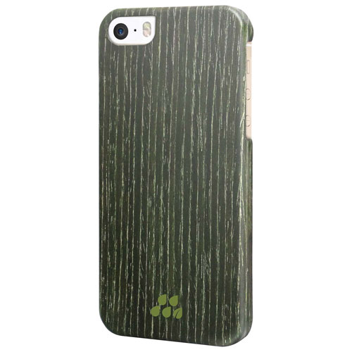 Evutec Wood S iPhone 5/5s/SE Fitted Hard Shell Case - Black Apricot