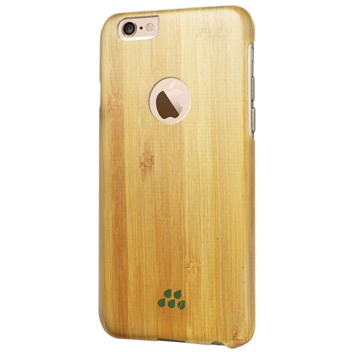 Evutec Wood S iPhone 6 Plus/6s Plus Fitted Hard Shell Case - Bamboo