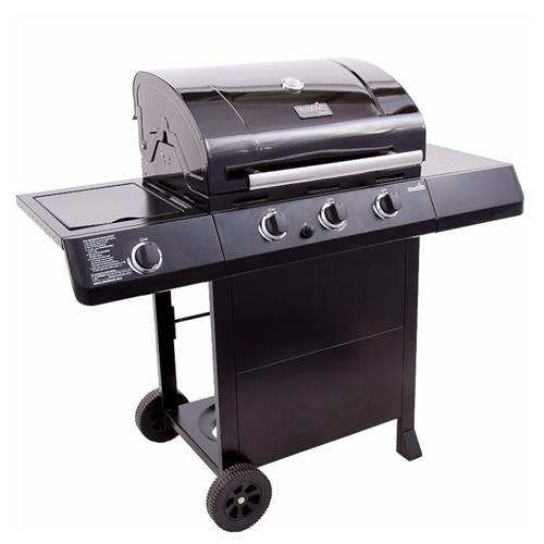 Barbecue � gaz � 3 br�leurs avec br�leur lat�ral 420 3B