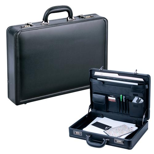 "Business Collection Expandable 15.6"" Laptop Attaché Case"
