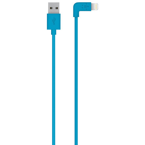 Belkin MIXIT UP 1.2m (4 ft.) 90-Degree Lightning Cable (F8J147BT04) - Blue