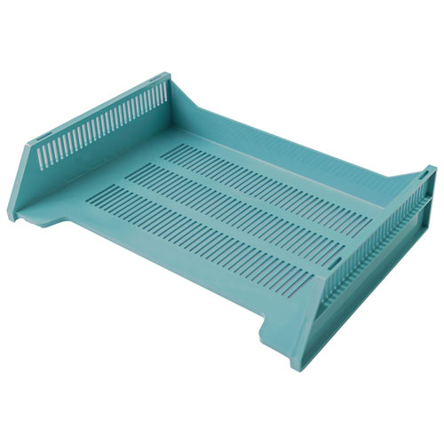 good natured Letter-Size Stackable Desk Tray - Blue