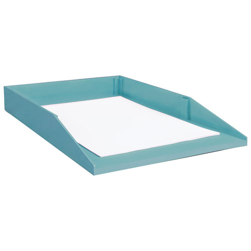 good natured Legal-Size Stackable Desk Tray - Blue