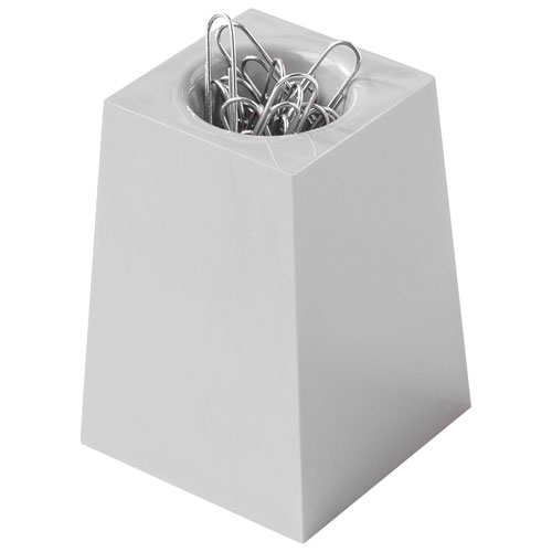 good natured Paperclip Dispenser - Grey