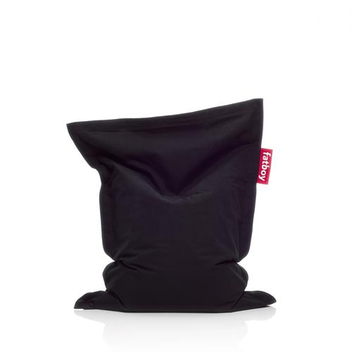 Fatboy Junior Stonewashed, Black bean bag