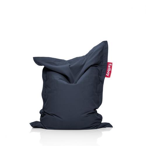 Fatboy Cotton Fabric Bean Bag Chair - Dark Blue