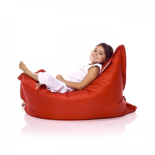 Fatboy Nylon/Polyester Fabric Kids & Teens Bean Bag Chair - Red
