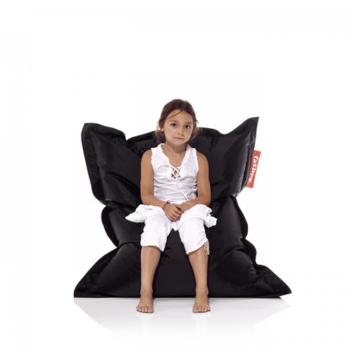 Fatboy Nylon Fabric Bean Bag Chair - Black