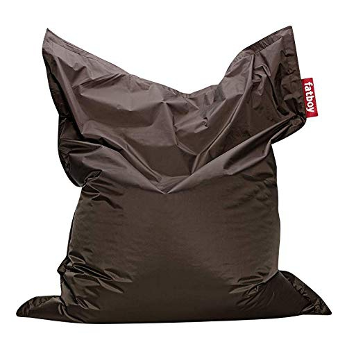 Fatboy Nylon Fabric Bean Bag Chair - Taupe