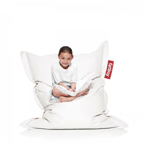 Fatboy Nylon/Polyester Fabric Bean Bag Chair - White