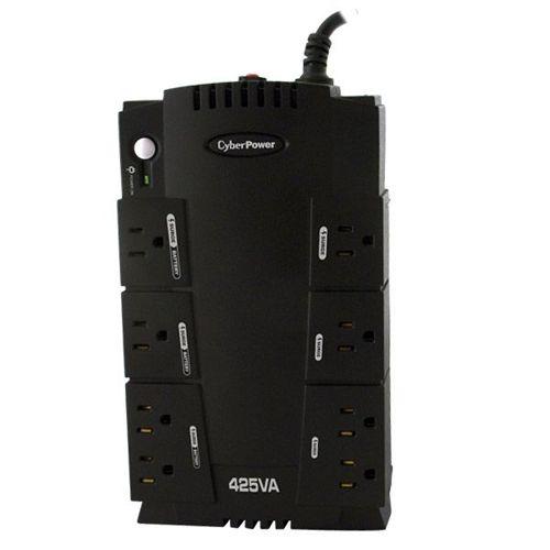 "CYBERPOWER 425VA UPS RJ11 USB 6OUT ""GREE"