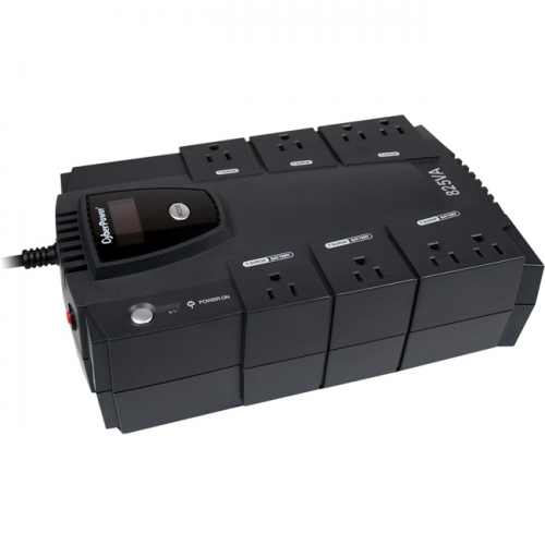 CyberPower Intelligent LCD CP825LCD 825 VA Desktop UPS