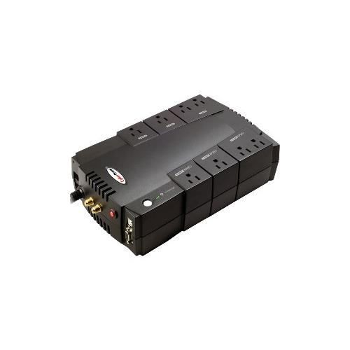 CYBERPOWER 685VA UPS RJ11/45 USB/DB9 8OU