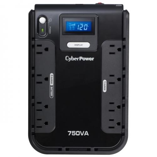 CyberPower CP750LCD Intelligent LCD 750VA/420W Desktop UPS