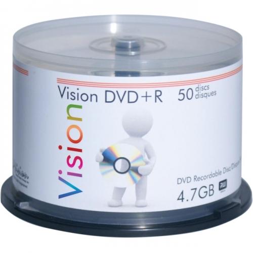 Vision 8x DVD+R Media