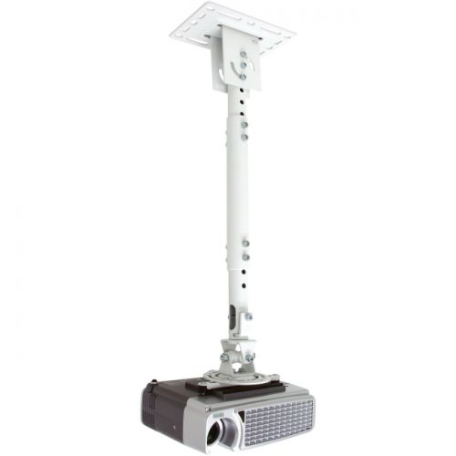 Telehook TH-WH-PJ-CM Universal Projector Ceiling Adjustable Pole Mount