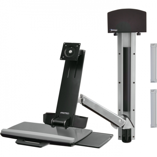 Ergotron StyleView 45-273-026 Multi Component Mount for Flat Panel Display, Keyboard, CPU