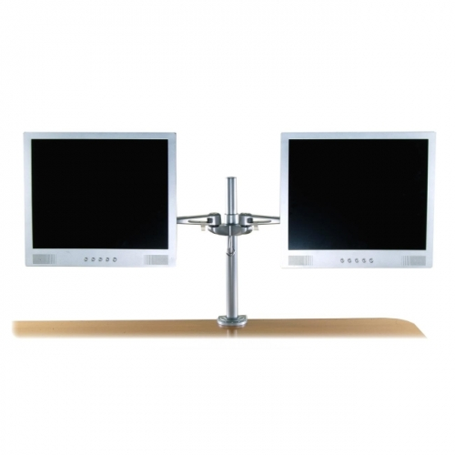 Exponent Microport Adjustable Dual Monitor Arm