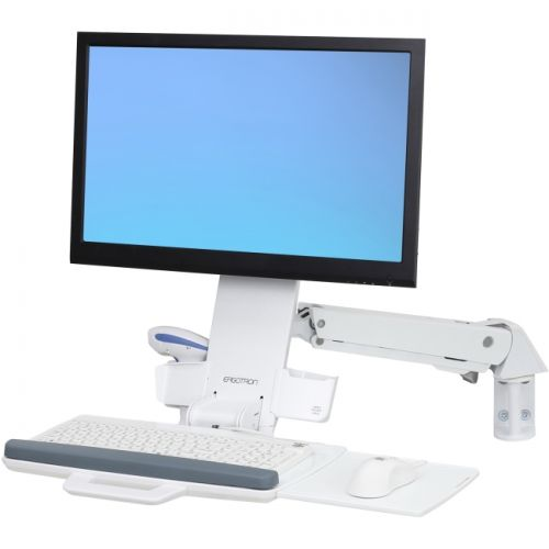 Ergotron StyleView Mounting Arm for Monitor, Keyboard, Bar Code Reader, Mouse