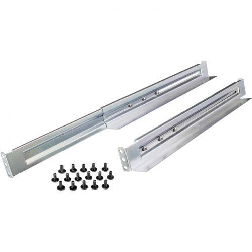 CyberPower Universal Rack Mount Adjustable Length Rail Kit for up to 231 LBS 1U & 2U