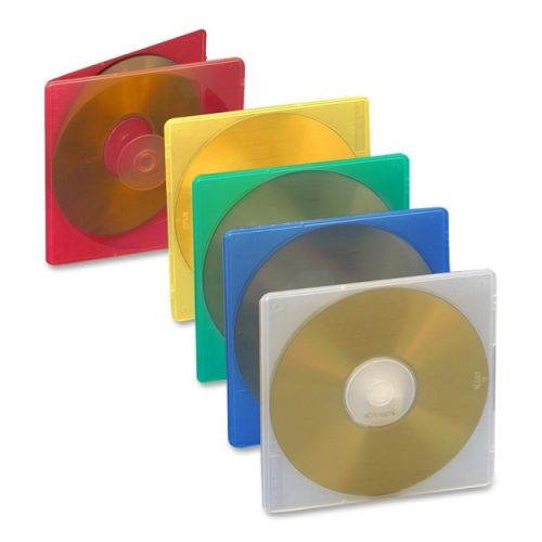 Compucessory Extra Thin CD/DVD Jewel Case