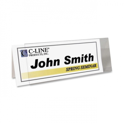 C-Line Rigid Name Tent Holder