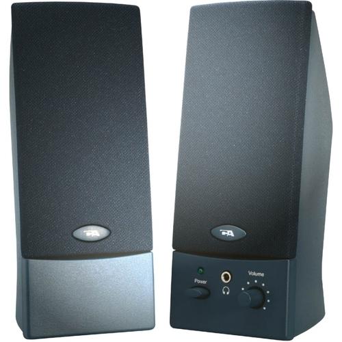 Cyber Acoustics CA-2011WB 2.0 Speaker System - 4 W RMS - Black
