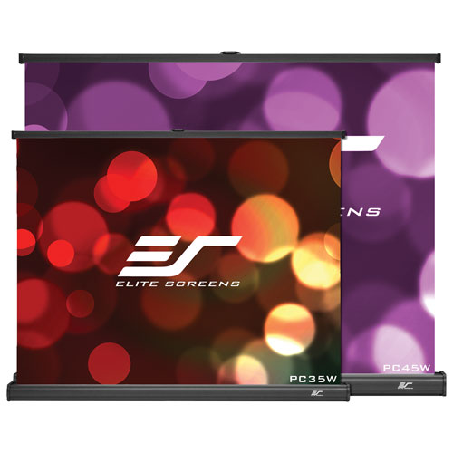 Écran de projection portatif 4:3 de 45 po série PicoScreen d'Elite Screens