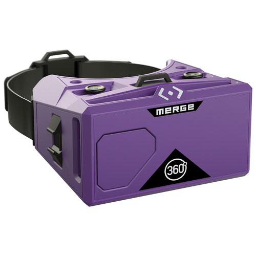 Merge VR Goggles - Virtual Reality for Android & iOS Smartphones - Purple