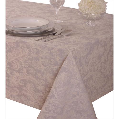 """St. Pierre Guimaraes 70"""" x 90"""" Brocade Tablecloth - Sea Green"""