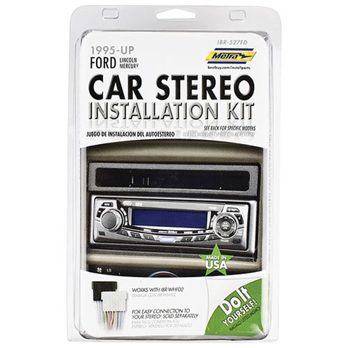 Metra Single DIN/ISO DIN Installation Kit for 1995+ Ford Vehicles (IBR-527FD)