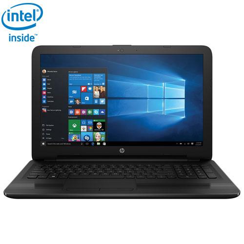 Portable de 15,6 po de HP - Noir (Celeron N3060 d'Intel/DD 500 Go/RAM 4 Go/Windows 10 Éd. familiale)