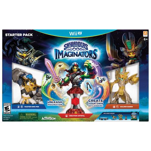 Ensemble de démarrage Skylanders Imaginators (Wii U)