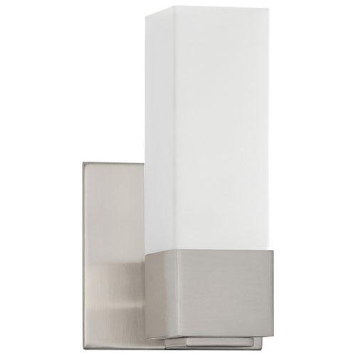 Bath Vanity Wall Lighting - White/Satin Nickel