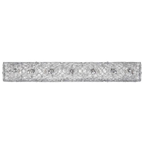 5-Light Bath Vanity Wall Fixture - Mesh/Chrome
