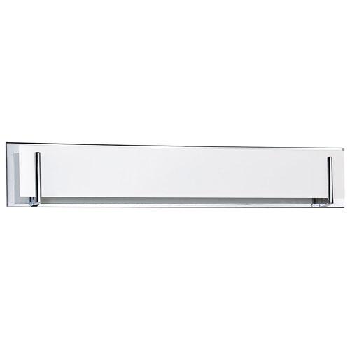 Aurora Lightning 6-Light Bath Vanity - White Glass/Chrome (ECT-KD014768)