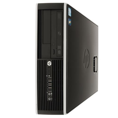 HP ELITE 8100 SFF Intel i5-3.0, 4GB Memory, 250GB HDD, DVDRW, Windows 10 Home 64 Bit(MAR), Keyboard & Mouse, Refurbished