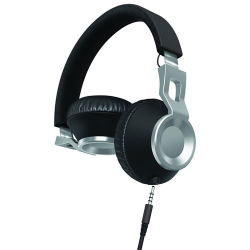 Sharper Image On-Ear Sound Isolating Headphones - Grey