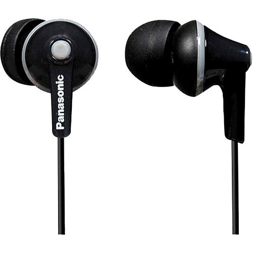 Panasonic Ergo Fit In-Ear Sound Isolating Headphones - Black