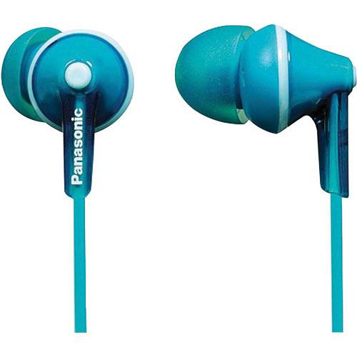 Panasonic Ergo Fit In-Ear Sound Isolating Headphones - Turquoise