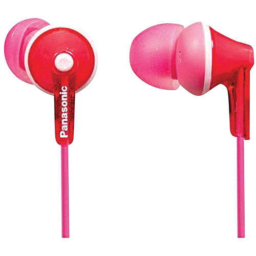 Panasonic Ergo Fit In-Ear Sound Isolating Headphones - Pink