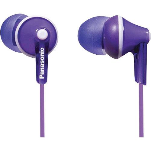Panasonic Ergo Fit In-Ear Sound Isolating Headphones - Violet