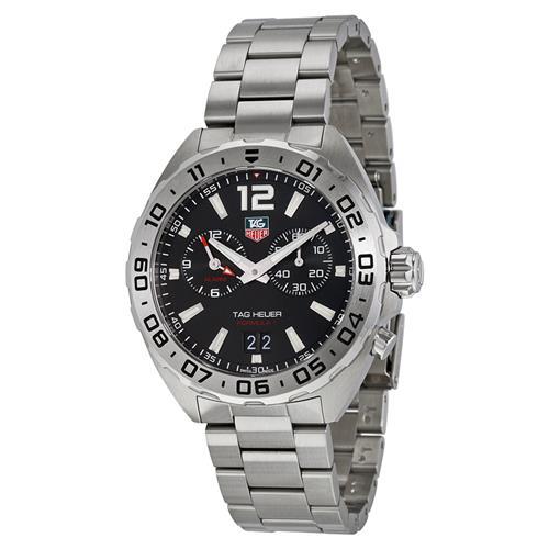 2adf70aa3de Tag Heuer Formula 1 Chronograph Black Dial Mens Watch WAZ111A.BA0875 -  Online Only