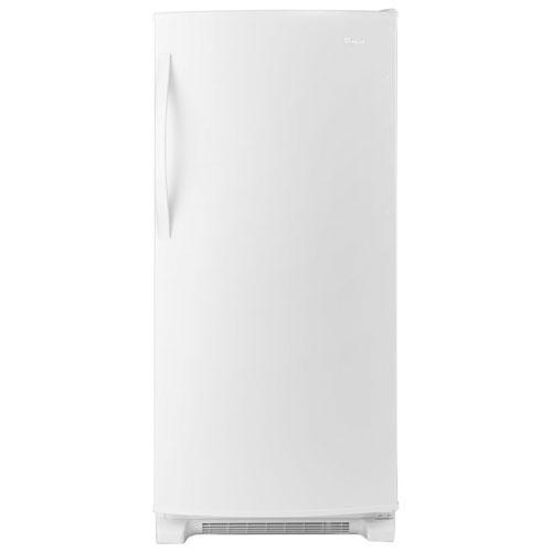 Réfrigérateur sans congélateur avec éclairage DEL 18 pi3 30 po de Whirlpool - Blanc